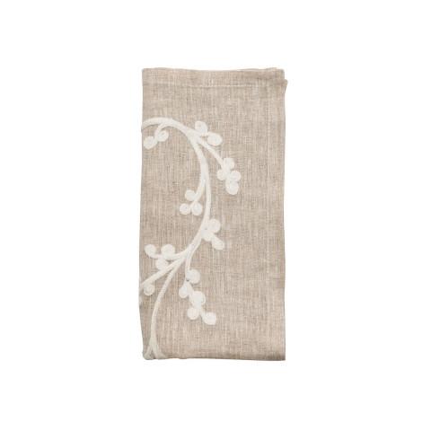Sakura Natural/Ivory Napkin | Gracious Style