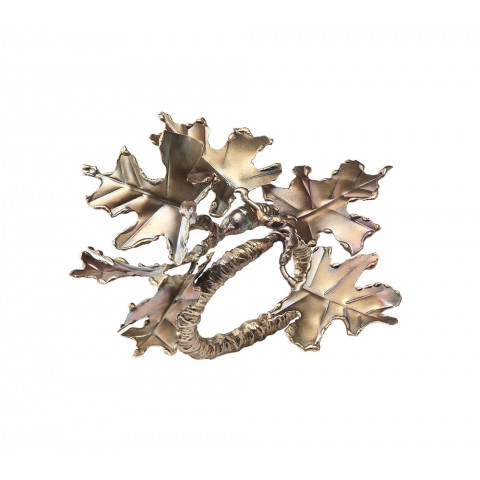 Foliage Gold/Multi Napkin Ring | Gracious Style