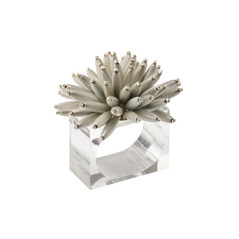 Spoke Silver Napkin Ring | Gracious Style