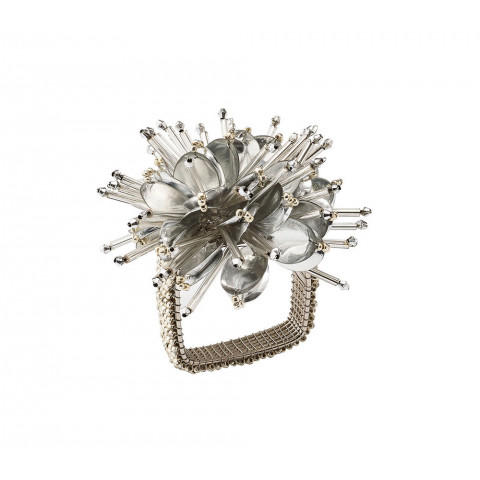 Starburst Silver Napkin Ring | Gracious Style