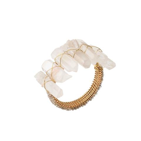 Radiant Iridescent Napkin Ring   Gracious Style