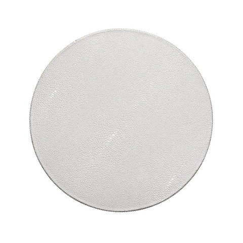 Pebble Silver Placemat   Gracious Style