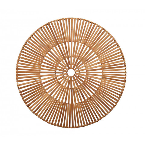 Spoke Brown Placemat | Gracious Style