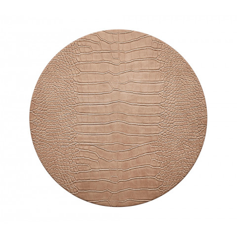 Croco Beige Placemat | Gracious Style