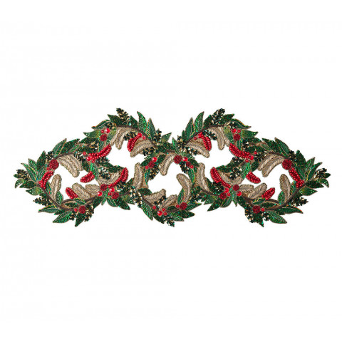 Holiday Garland Multi Runner   Gracious Style