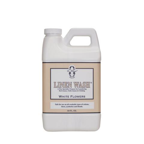 Linen Wash White Flower 64 oz.  | Gracious Style