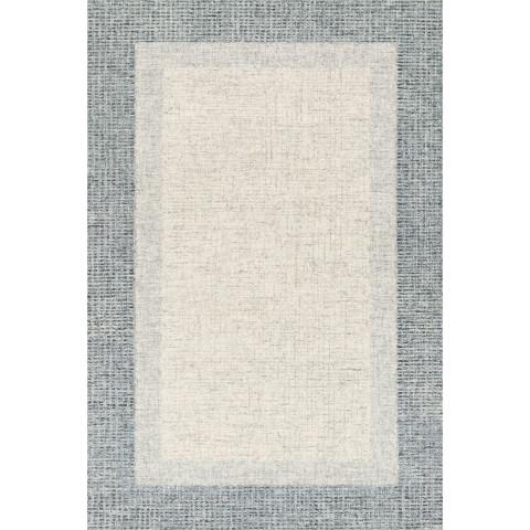 ROSINA ROI-01 GREY/BLUE Rugs | Gracious Style