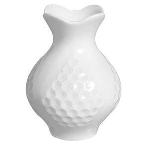 Dressed in White Vase 3.5"