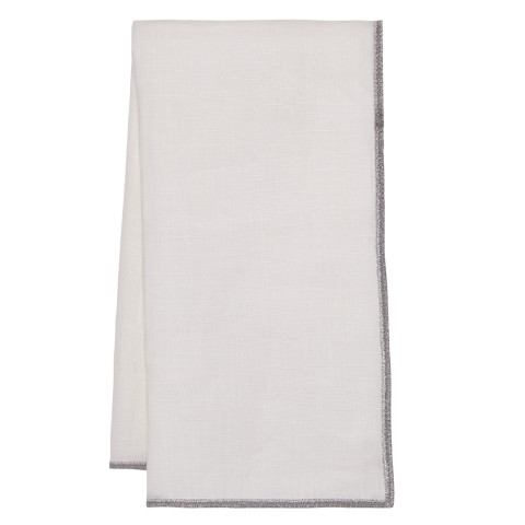 Bel Air 20 x 20 in Napkins Silver, Set of Four | Gracious Style
