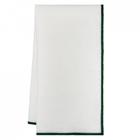 Bel Air 20 x 20 in Napkins Green, Set of Four | Gracious Style