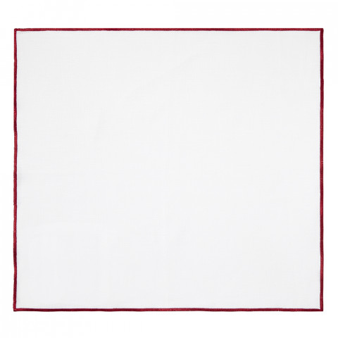 Bel Air 20 x 20 in Napkins Metallic Red, Set of Four   Gracious Style