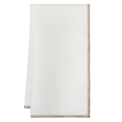 Bel Air 20 x 20 in Napkins Rose Gold, Set of Four   Gracious Style