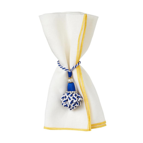 Bel Air 20 x 20 in Napkins Yellow, Set of Four | Gracious Style