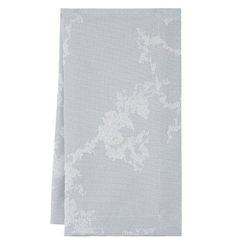 Carrera 20 x 20 in Napkins Gray Patterned, Set of Four | Gracious Style