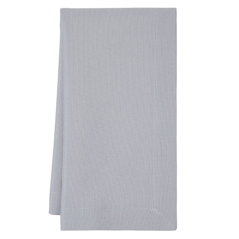 Carrera 20 x 20 in Napkins Gray Solid, Set of Four | Gracious Style