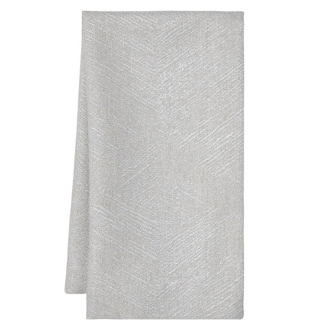 Essex 20 x 20 in Napkins Taupe Silver Metallic, Set of Four | Gracious Style