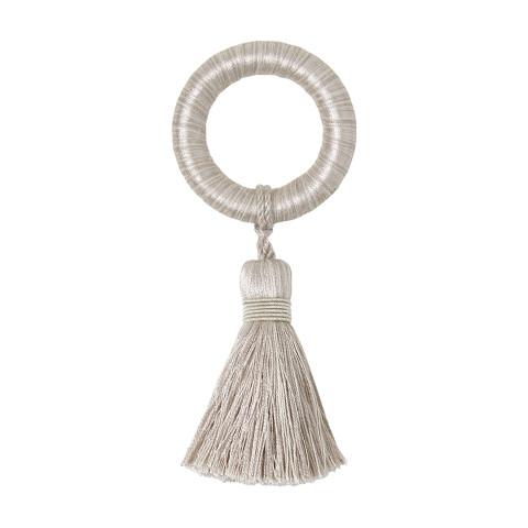 Fez Napkin Ring Gray, Set of Four | Gracious Style
