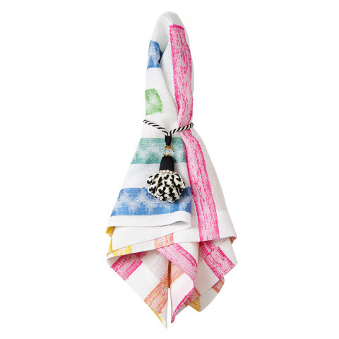 Fiesta 20 x 20 in Napkins Multicolor, Set of Four | Gracious Style