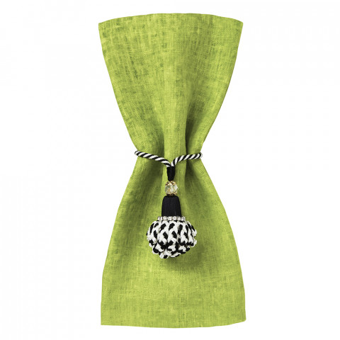 Fiji 20 x 20 in Napkins Lime, Set of Four | Gracious Style