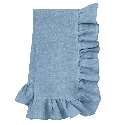 Lucca 20 x 20 in Napkins Baby Blue, Set of Four | Gracious Style