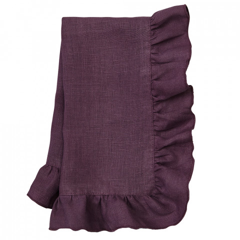 Lucca 20 x 20 in Napkins Eggplant, Set of Four | Gracious Style