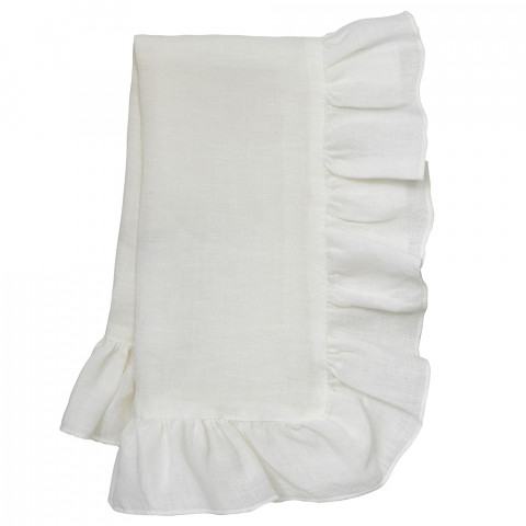 Lucca 20 x 20 in Napkins White, Set of Four | Gracious Style