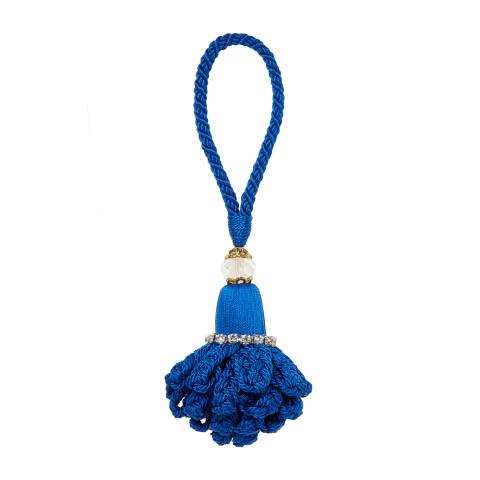 Marbella Napkin Rings Cobalt Blue, Set of Four | Gracious Style