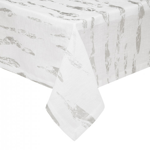 Monaco Printed Stain-Resistant Easy Care Table Linens | Gracious Style