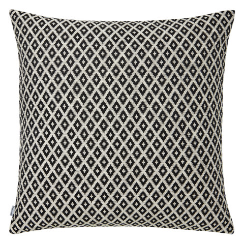 Ombre 066 Pillow 22 x 22 in Square Black and White | Gracious Style