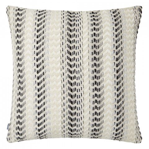 Ombre 067 Pillow 22 x 22 in Square Black and White | Gracious Style