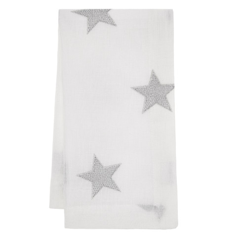 Starry Night Runner 16 x 70 in Silver | Gracious Style