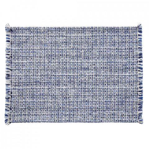 Twiggy Placemats Blue, Set of Four | Gracious Style