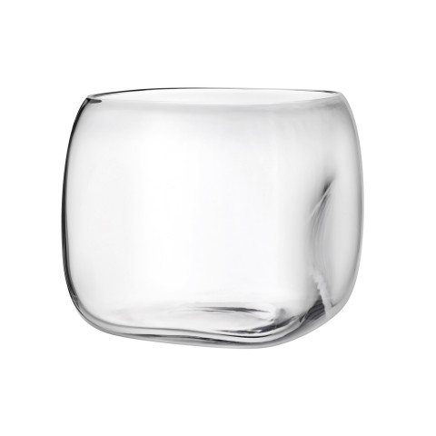 Mono Box Clear Vase Extra Large   Gracious Style