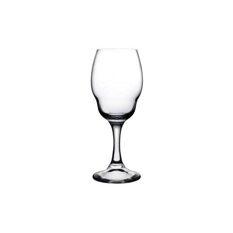 Heads Up Clear White Wine Glass Set Of 2 | Gracious Style