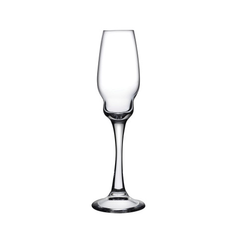 Heads Up Clear Champagne Glass Set Of 2   Gracious Style