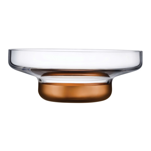 Contour Clear Top Contour Bottom Bowl Large | Gracious Style