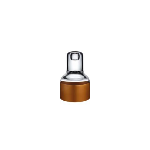 Contour Clear Top Contour Bottom Candle Holder | Gracious Style