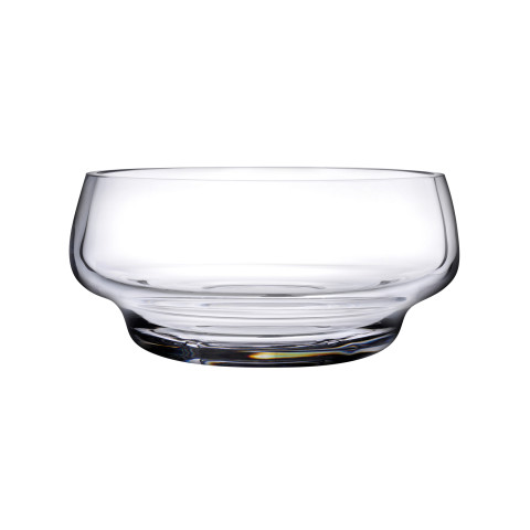 Heads Up Clear Salad Bowl | Gracious Style