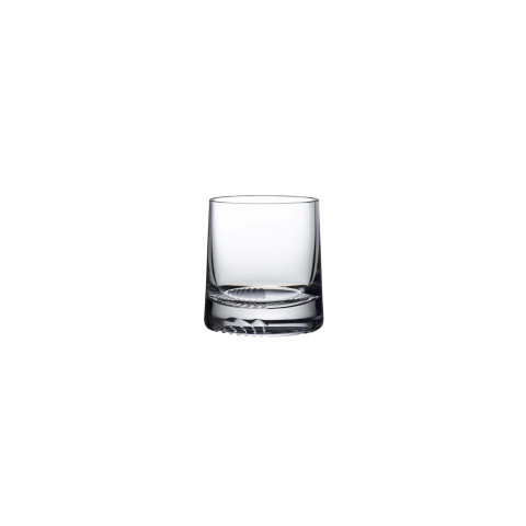 Alba Clear Whisky Glass Clear Single Old Fashioned, Set Of 2 | Gracious Style