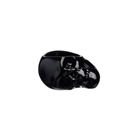 Memento Mori Black Skull Bowl  (Small Size) | Gracious Style