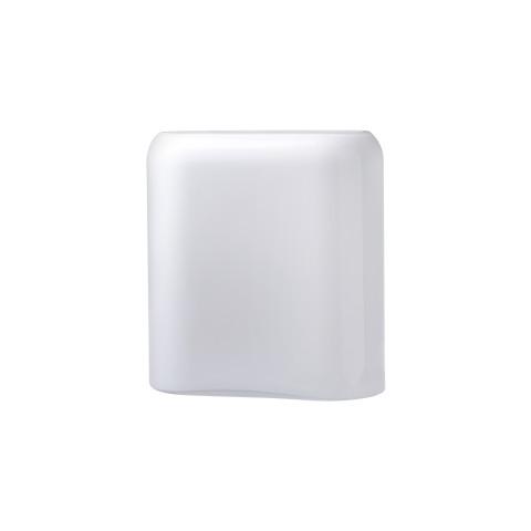 Layers Opal White Vase Medium | Gracious Style