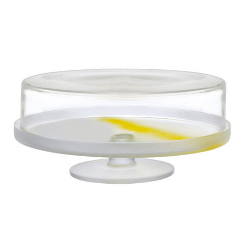 Pigmento Yellow Sprayed Cake Dome | Gracious Style