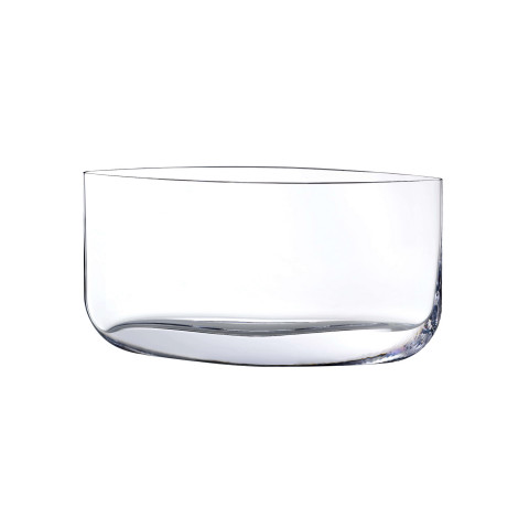 Blade Clear Vase, Flat | Gracious Style
