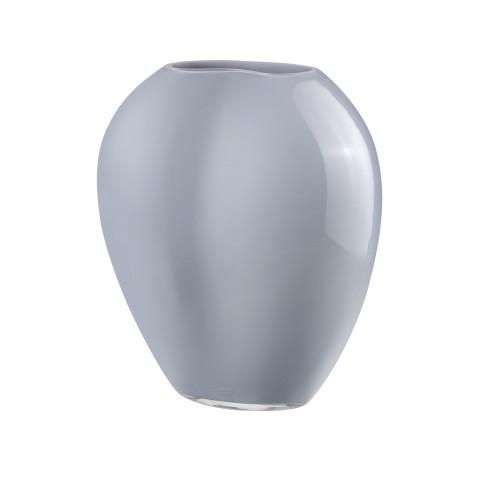Satin Opal Grey Vase | Gracious Style
