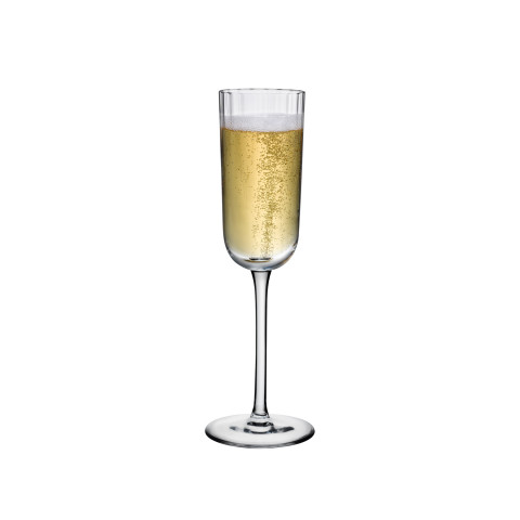 Neo Clear Champagne Glass, Set Of 2 | Gracious Style