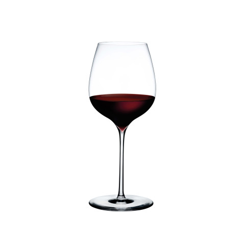 Dimple Clear Elegant Red Wine , Set Of 2 | Gracious Style