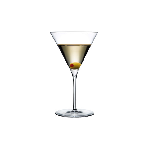 Dimple Clear Martini Glass, Set Of 2 | Gracious Style