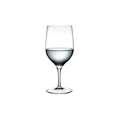 Dimple Clear Water Glass, Set Of 2 | Gracious Style