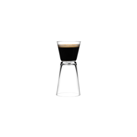 Dual Clear Espresso, Set Of 2 | Gracious Style