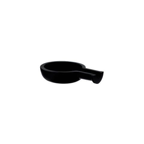 Egoist Black Ashtray | Gracious Style